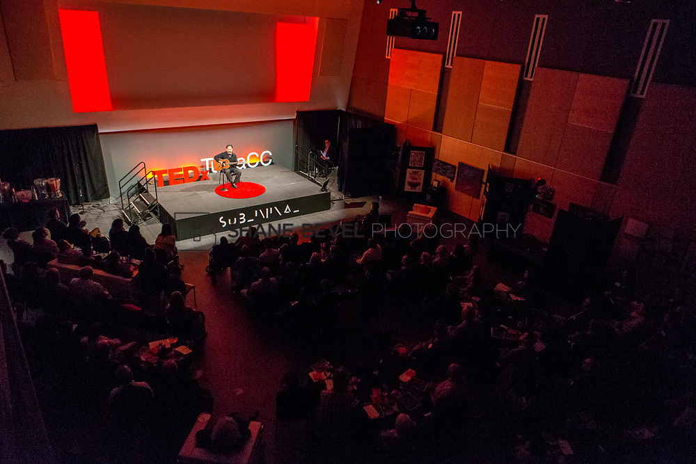 4/29/17 6:03:25 PM -- Tedx TulsaCC event at the Center for Creativity. Released under Creative Commons license for non commercial, non derivative usage. <br /> <br /> Photo by Shane Bevel