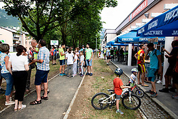 Ajdovscina during 4th Stage of 26th Tour of Slovenia 2019 cycling race between Nova Gorica and Ajdovscina (153,9 km), on June 22, 2019 in Slovenia. Photo by Vid Ponikvar / Sportida