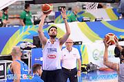 DESCRIZIONE: Torino FIBA Olympic Qualifying Tournament <br /> GIOCATORE: Riccardo Cervi<br /> CATEGORIA: Nazionale Italiana Italia Maschile Senior Allenamento<br /> GARA: FIBA Olympic Qualifying Tournament Allenamento<br /> DATA: 04/07/2016<br /> AUTORE: Agenzia Ciamillo-Castoria