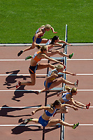 ATHLETICS - EUROPEAN CHAMPIONSHIPS 2012 - HELSINKI (FIN) - DAY 3 - 29/06/2012 - PHOTO PHILIPPE MILLEREAU / KMSP / DPPI - WOMEN - HEPTATHLON - 100M HURDLES - ILLUSTRATION