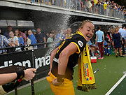 Den Bosch's Maaartje Paumen celebrates wiining the final of the EHCC 2017 at Den Bosch HC, The Netherlands, 5th June 2017