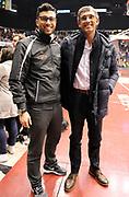 DESCRIZIONE : Milano Campionato Lega A 2013-14 EA7 Olimpia Armani Milano Enel Brindisi<br /> GIOCATORE : Presidente Marino e Figlio Tullio<br /> SQUADRA : Enel Brindisi <br /> EVENTO : Campionato Lega A 2013-14<br /> GARA :  EA7 Olimpia Armani Milano Enel Brindisi<br /> DATA : 19/01/2014<br /> CATEGORIA : VIP Presidente<br /> SPORT : Pallacanestro<br /> AUTORE : Agenzia Ciamillo-Castoria/A.Giberti<br /> Galleria : Campionato Lega Basket A 2013-14<br /> Fotonotizia : EA7 Olimpia Armani Milano Enel Brindisi<br /> Predefinita :