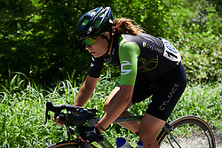 Sheyla Gutierrez Ruiz (ESP) in solo move at Giro Rosa 2018 - Stage 2, a 120.4 km road race starting and finishing in Ovada, Italy on July 7, 2018. Photo by Sean Robinson/velofocus.com