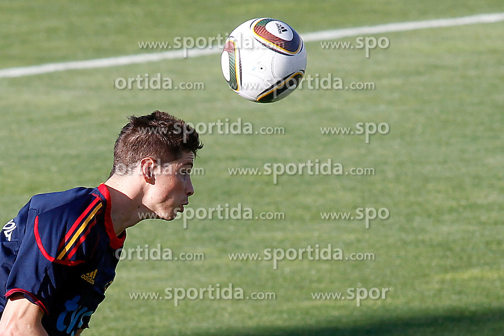 10.06.2010, Sportanlage, Potchefstroom, RSA, FIFA WM 2010, Training Spanien im Bild Spain's Fernando Torres, EXPA Pictures © 2010, PhotoCredit: EXPA/ Alterphotos/ Acero / SPORTIDA PHOTO AGENCY