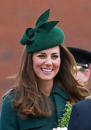 KATE Hands Out Shamrock On St Patrick's Day2