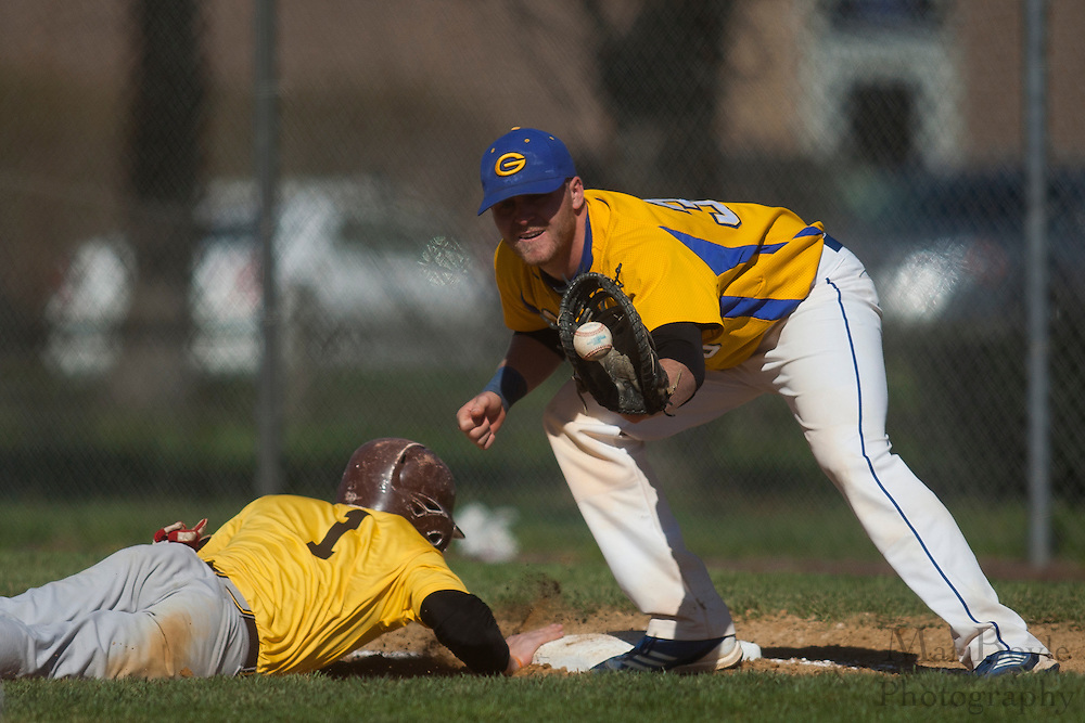 Rowan University JV baseball at Gloucester County College in Sewell, NJ on April 3, 2012.  (photo / Mat Boyle)