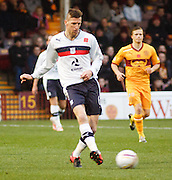 Dundee's Iain Davidson - Motherwell v Dundee at Fir Park in the Clydesdale Bank Scottish Premier League.. - © David Young - www.davidyoungphoto.co.uk - email: davidyoungphoto@gmail.com