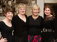 Lisa Seery, Conductor,  and  Coole Voices performers Rosario Brennan , Josephine Ward and Marie Diskin who  performed  at Choir Factor in the Radisson Blu.<br /> Choir Factor is a fundraiser for The Sccul Sanctuary, Therapeutic Support Centre in Kilcornan Clarenbrdge.<br /> <br />  Photo:Andrew Downes, xposure.