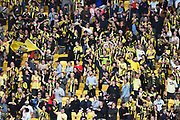 Phoenix fans during their Hyundai A League match. Wellington Phoenix v Melbourne City FC. Westpac Stadium, Wellington, New Zealand. Saturday 26 January 2019. ©Copyright Photo: Chris Symes / www.photosport.nz