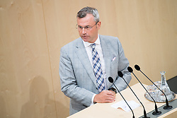 03.07.2019, Hofburg, Wien, AUT, Parlament, Nationalratssitzung, Sitzung des Nationalrates zur Reform der Parteienfinanzierung, Dienstrechtsnovelle so wie zum Transparenzdatenbankgesetz, im Bild TEXT // during meeting of the National Council of Austria at Hofburg palace in Vienna, Austria on 2019/07/03, EXPA Pictures © 2019, PhotoCredit: EXPA/ Michael Gruber