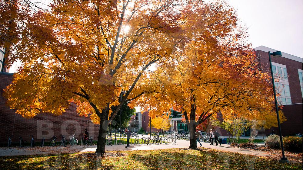 Campus Scene, Student Life, Fall, Everett Smith