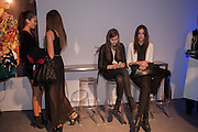 ANA MARQUES; BEATRICE SANTANA; JOANNA KOLTUNIAK; ALINA ZANELLA, The Vogue Festival 2012 in association with Vertu- cocktail party. Royal Geographical Society. Kensington Gore. London. SW7. 20 April 2012.