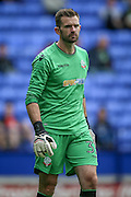Mark Howard (Bolton Wanderers) in goal during the Pre-Season Friendly match between Bolton Wanderers and Preston North End at the Macron Stadium, Bolton, England on 30 July 2016. Photo by Mark P Doherty.