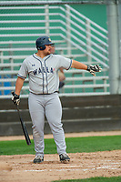 KELOWNA, BC - JULY 06: Brock Ephan #34 of the Walla Walla Sweets steps up to the plate against the Kelowna Falcons at Elks Stadium on July 6, 2019 in Kelowna, Canada. (Photo by Marissa Baecker/Shoot the Breeze)