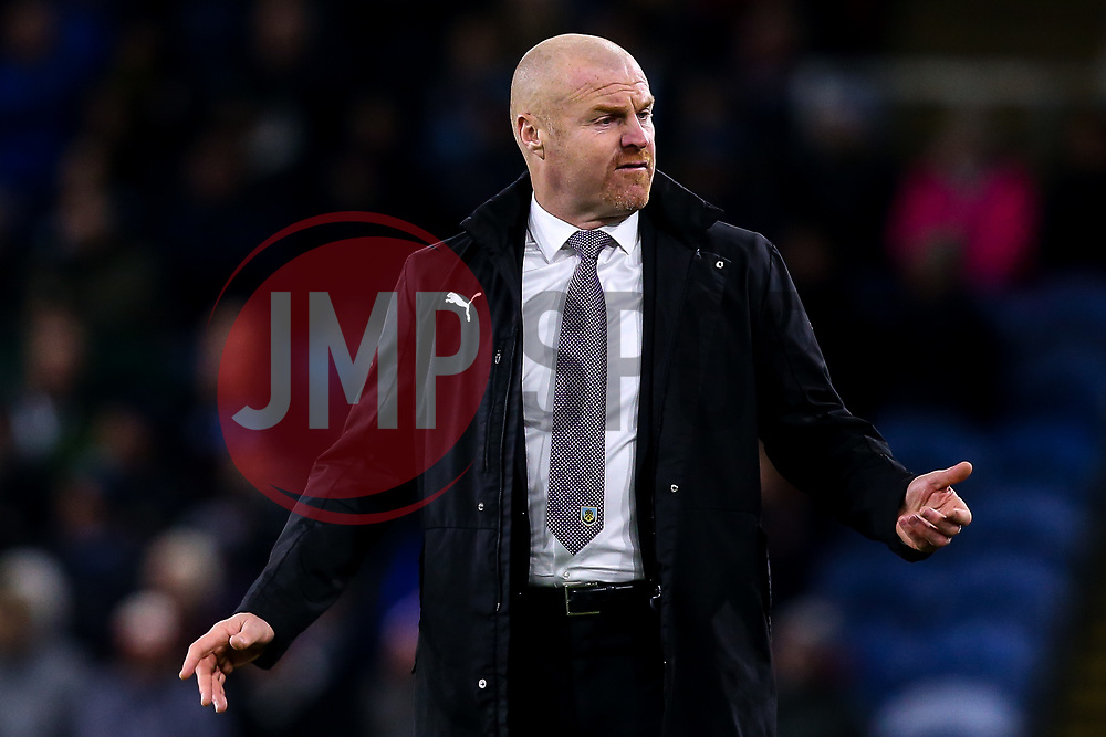 Burnley manager Sean Dyche cuts a frustrated figure - Mandatory by-line: Robbie Stephenson/JMP - 26/11/2018 - FOOTBALL - Turf Moor - Burnley, England - Burnley v Newcastle United - Premier League