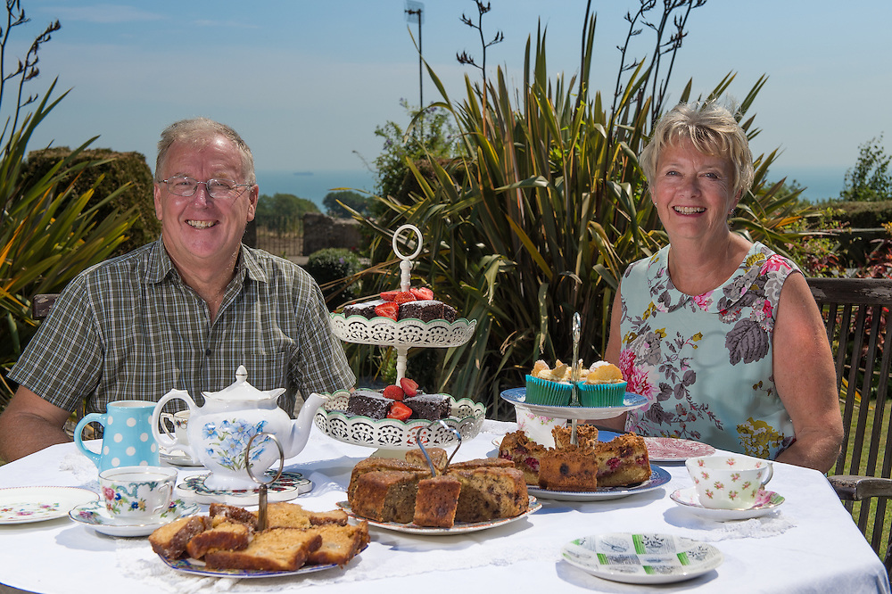Tearooms at Luccombe Farm, Shanklin, Isle of Wight