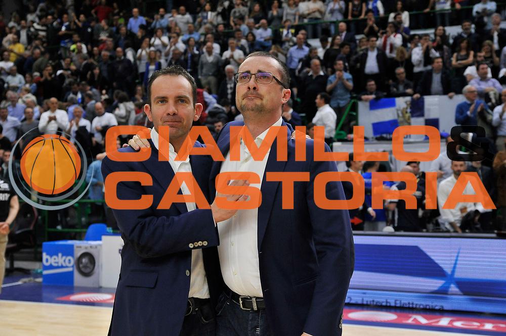 DESCRIZIONE : Beko Legabasket Serie A 2015- 2016 Playoff Quarti di Finale Gara3 Dinamo Banco di Sardegna Sassari - Grissin Bon Reggio Emilia<br /> GIOCATORE : Massimo Maffezzoli Paolo Citrini<br /> CATEGORIA : Ritratto Delusione Postgame<br /> SQUADRA : Dinamo Banco di Sardegna Sassari<br /> EVENTO : Beko Legabasket Serie A 2015-2016 Playoff<br /> GARA : Quarti di Finale Gara3 Dinamo Banco di Sardegna Sassari - Grissin Bon Reggio Emilia<br /> DATA : 11/05/2016<br /> SPORT : Pallacanestro <br /> AUTORE : Agenzia Ciamillo-Castoria/C.Atzori