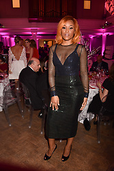 Singer/Rapper Eve at the Floral Ball in aid of Sheba Medical Center hosted by Laura Pradelska and Zoe Hardman and held at One Marylebone, 1 Marylebone Road, London England. 14 March 2017.