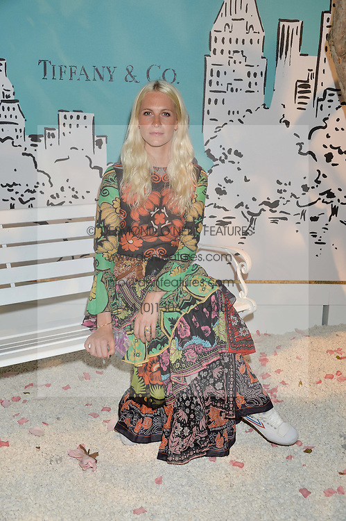 POPPY DELEVINGNE at the Tiffany & Co. Exhibition 'Fifth And 57th' Opening Night held in The Old Selfridges Hotel, Orchard Street, London on 1st July 2015.