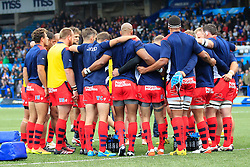 Bristol Rugby squad before the match - Mandatory by-line: Ian Smith/JMP - 20/08/2016 - RUGBY - BT Sport Cardiff Arms Park - Cardiff, Wales - Cardiff Blues v Bristol Rugby - Pre-season friendly