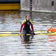 NLD/Amsterdam/20170903 - Amsterdam City Swim 2017, Rescueswimmer