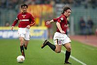 Roma 22/2/2004 <br />Roma Siena 6-0 <br />Colpo di tacco di Antonio Cassano (Roma)<br />Photo Andrea Staccioli Graffiti