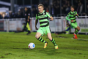 Forest Green Rovers Marcus Kelly(10) runs forward during the Vanarama National League match between Eastleigh and Forest Green Rovers at Arena Stadium, Eastleigh, United Kingdom on 10 January 2017. Photo by Shane Healey.