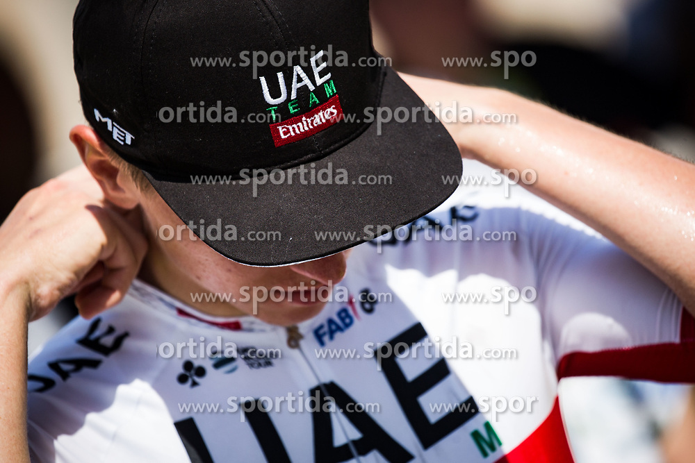 Tadej Pogacar (SLO) of UAE Team Emirates after 3rd Stage of 26th Tour of Slovenia 2019 cycling race between Zalec and Idrija (169,8 km), on June 21, 2019 in Slovenia. Photo by Peter Podobnik / Sportida