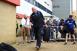 Bath Director of Rugby Todd Blackadder arrives at the stadium prior to the match - Mandatory byline: Patrick Khachfe/JMP - 07966 386802 - 30/03/2018 - RUGBY UNION - Kingsholm Stadium - Gloucester, England - Bath Rugby v Exeter Chiefs - Anglo-Welsh Cup Final