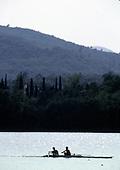 1992 Barcelona Olympic Regatta, Lake Banyoles, SPAIN