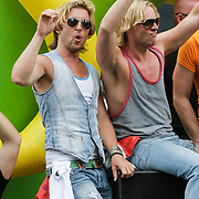 NLD/Amsterdam/20120804 - Canalparade tijdens de Gaypride 2012, Herald Adolfs