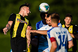 during the football match between NK Kalcer Radomlje and NK Nafta 1903 in Semifinals of Slovenian football Cup 2019/20, on 10th of June, 2020 in NNC Brdo, Brdo pri Kranju, Slovenia. Photo by Grega Valancic / Sportida