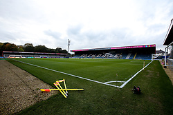 A general view of the Crown Oil Arena, home of Rochdale - Mandatory by-line: Robbie Stephenson/JMP - 02/10/2018 - FOOTBALL - Crown Oil Arena - Rochdale, England - Rochdale v Bristol Rovers - Sky Bet League One
