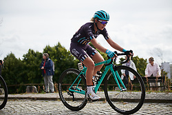 Anna Christian (GBR) on the local laps around Halden at Ladies Tour of Norway 2018 Stage 3. A 154 km road race from Svinesund to Halden, Norway on August 19, 2018. Photo by Sean Robinson/velofocus.com