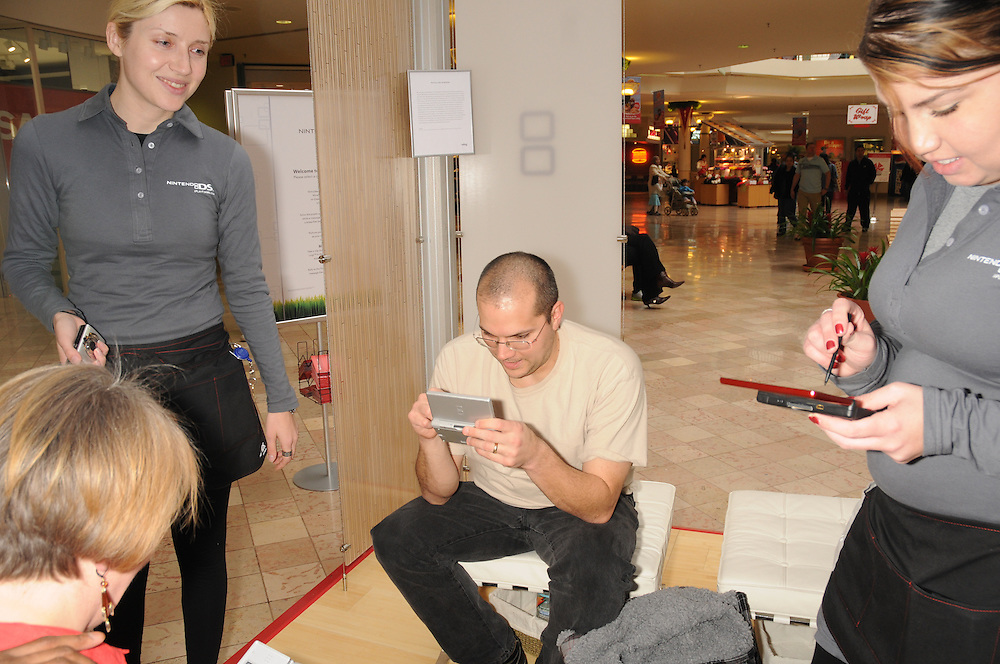 Public relations photography for Nintendo DS Spa