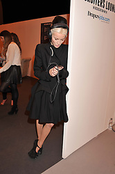 DAPHNE GUINNESS at the Graduate Fashion Week Gala drinks reception held at Earls Court 2, London on 13th June 2012.
