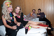 JODIE HARSH; FLEUR BRITTEN; DAMIAN BARR; SIMON WARRINGTON, On The Couch: Tales Of Couchsurfing A Continent., Fleur Britten, book launch party Andaz London, 40 Liverpool Street, London EC2, 7-10pm