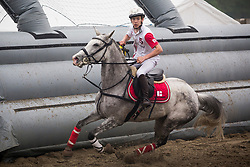 Van Herreweghe Axel, BEL, Princess Querda<br /> BK Horseball 2018<br /> © Sharon Vandeput<br /> 15:47:43