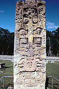 Stele B from Copan. Pre-Columbian, Honduras: Maya (cAD 300-630)