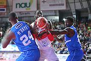 Anosike O.D.<br /> Openjobmetis Varese - Enel Brindisi<br /> LegaBasket 2016/2017<br /> Varese 23/10/2016<br /> Foto Ciamillo-Castoria