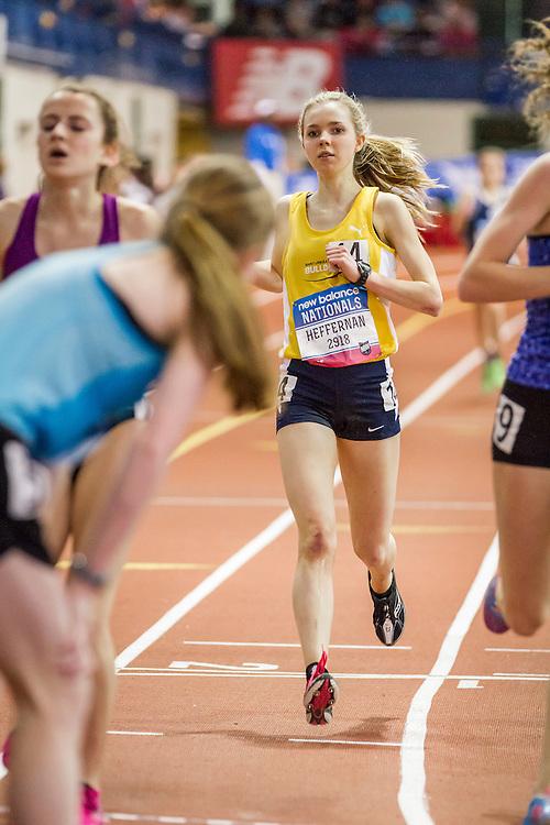 Girl's Championship Two Mile, won by Tessa Barrett, Heffernan