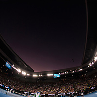 A general view of Rod Laver Arena during the women's final on day thirteen of the 2017 Australian Open at Melbourne Park on January 28, 2017 in Melbourne, Australia.<br /> (Ben Solomon/Tennis Australia)