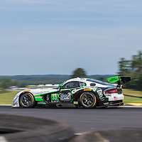 Alton, VA - Aug 26, 2016:  The Riley Motorsport SRT Viper GT3-R races through the turns at the Oak Tree Grand Prix at Virginia International Raceway in Alton, VA.