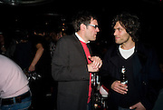DEXTER DALWOOD; BARRY REIGATE, Cloak and Dagger, - Amanda Eliasch - book launch - Entertainment by Miss Polly Rae and her Hurly Burly girls. <br />