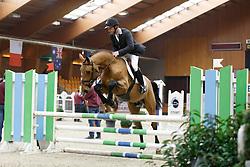 12 - Laevers Sven (BEL) - Lavallino Ter Klomp<br /> BWP Hengstenkeuring 2014<br /> Zilveren Spoor Moorsele 2014<br /> © Dirk Caremans