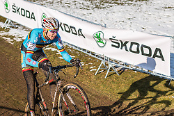 Michael Vanthourenhout (BEL), Men Under 23, Cyclo-cross World Championships Tabor, Czech Republic, 1 February 2015, Photo by Pim Nijland / PelotonPhotos.com
