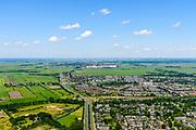 Nederland, Utrecht, Amersfoort, 29-05-2019; overzicht nieuwbouwwijk Nieuwland, Vinex-wijk.<br /> Overview new development district Nieuwland, Vinex district.<br /> luchtfoto (toeslag op standard tarieven);<br /> aerial photo (additional fee required);<br /> copyright foto/photo Siebe Swart