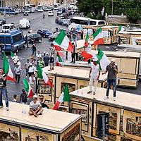 Roma - Centro storico senza camion bar: la protesta dei venditori