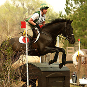 Amy Tryon (USA) and Coal Creek at the 2007 Red Hills Horse Trials in Tallahassee, Florida