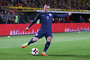 Jamie Vardy of England during the International Friendly match between Germany and England at Signal Iduna Park, Dortmund, Germany on 22 March 2017. Photo by Phil Duncan.